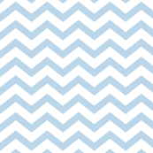 chevron powder blue and white