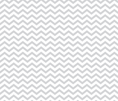 chevron light grey fabric by misstiina on Spoonflower - custom fabric