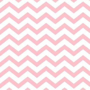 chevron light pink