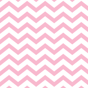 chevron light pink and white