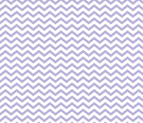 chevron light purple and white fabric by misstiina on Spoonflower - custom fabric