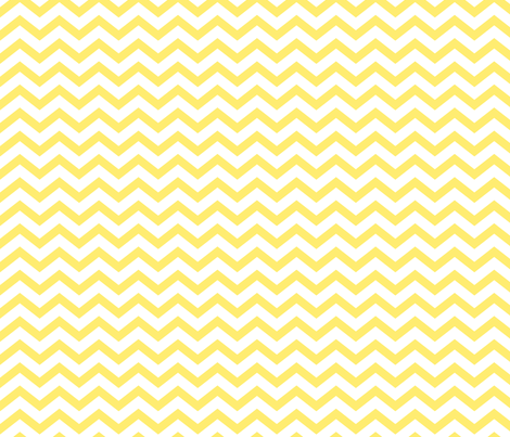chevron lemon yellow fabric by misstiina on Spoonflower - custom fabric