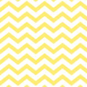 chevron lemon yellow