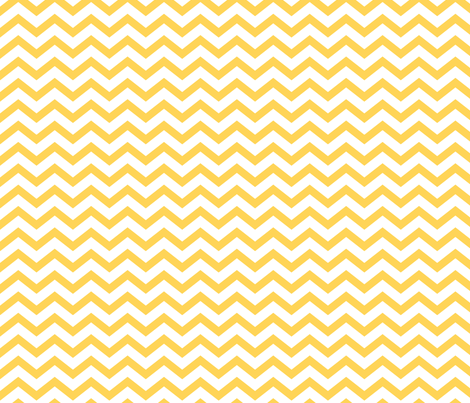 chevron yellow and white fabric by misstiina on Spoonflower - custom fabric