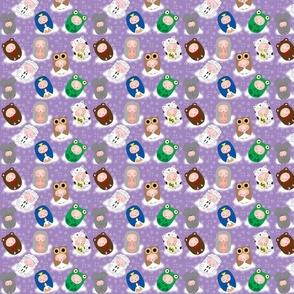 Baby-buus Purple
