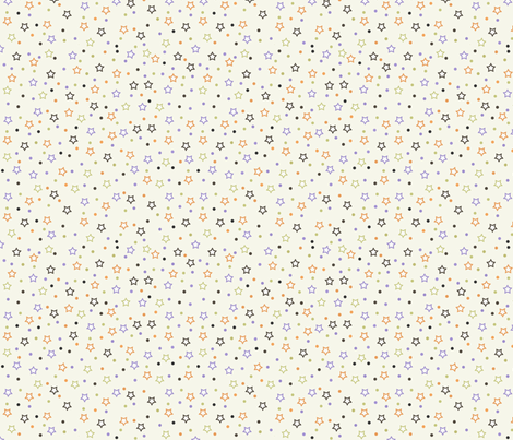 Halloween Stars fabric by jpdesigns on Spoonflower - custom fabric