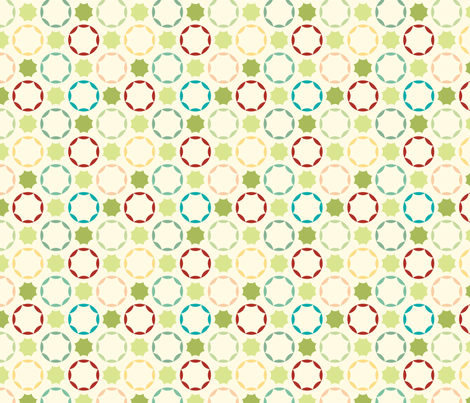 sugar cookies fabric by lighthearts on Spoonflower - custom fabric