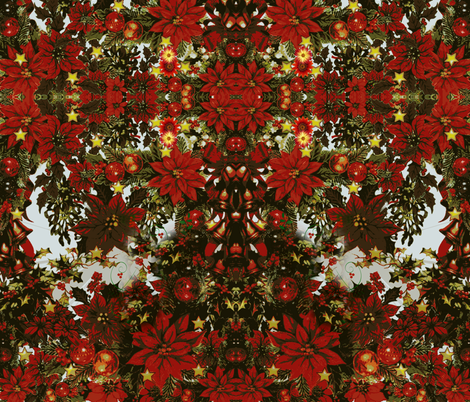 Holiday Floral Pattern fabric by whimzwhirled on Spoonflower - custom fabric