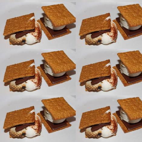 S'mores fabric by kacyerin on Spoonflower - custom fabric