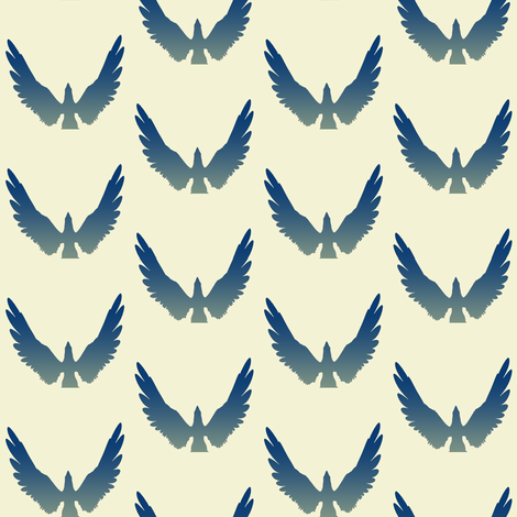 Eagles 3, S fabric by animotaxis on Spoonflower - custom fabric