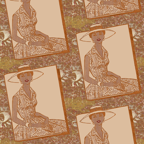 Stylin fabric by nalo_hopkinson on Spoonflower - custom fabric