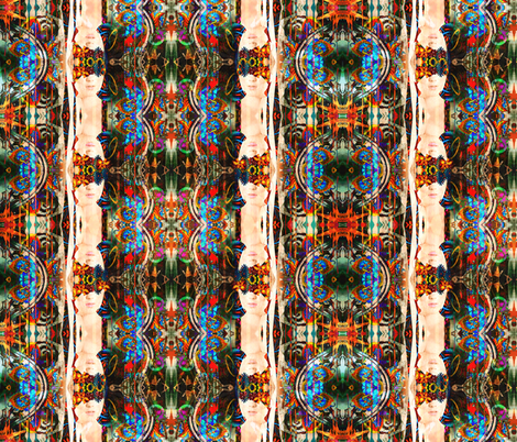 Blind Faith Totem fabric by whimzwhirled on Spoonflower - custom fabric