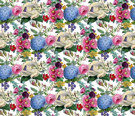 Les Fleurs fabric by victoriagolden on Spoonflower - custom fabric