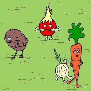 Rude Vegetables