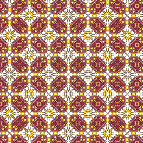Mystic Gate fabric by siya on Spoonflower - custom fabric