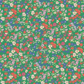 Ditsy floral print