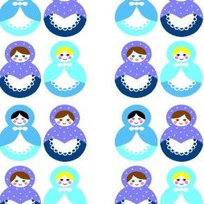 4 Russian dolls