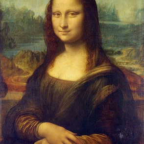 da Vinci - Mona Lisa (1506) - Half Size