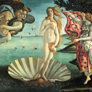 Botticelli - The Birth of Venus (1485)