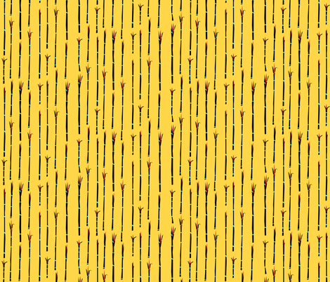 Paperclip Stripe III. fabric by pond_ripple on Spoonflower - custom fabric