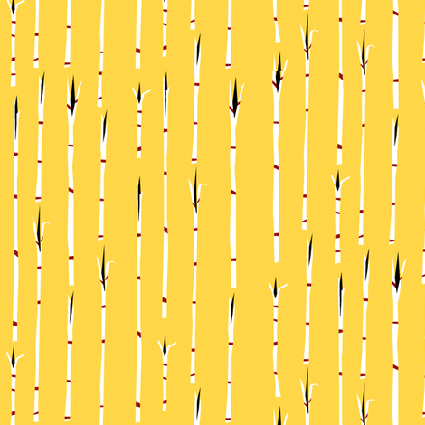 Paperclip Stripe II. fabric by pond_ripple on Spoonflower - custom fabric