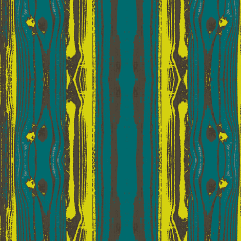 Woodgrain in Peacock 2 fabric by bluenini on Spoonflower - custom fabric