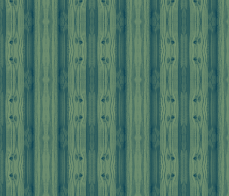 Woodgrain in Blue fabric by bluenini on Spoonflower - custom fabric