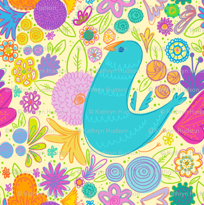 Birdy Flowers