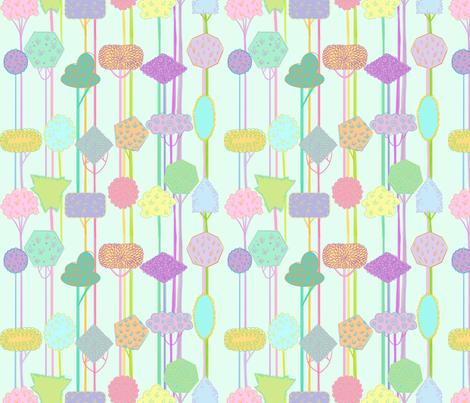 tree_pattern fabric by spicysteweddemon on Spoonflower - custom fabric