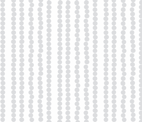 Imperfect Circles in Grey and Pearl fabric by bluenini on Spoonflower - custom fabric