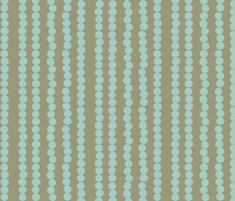 Imperfect Circles in Sky and Grey fabric by bluenini on Spoonflower - custom fabric