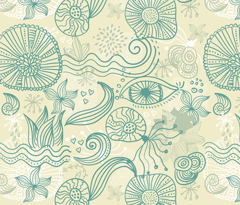 abstract pattern fabric by anastasiia-ku on Spoonflower - custom fabric