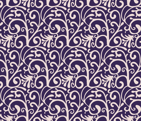 Russian Swirl fabric by kezia on Spoonflower - custom fabric