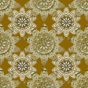 Ornamentation sienna metallic