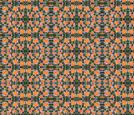 Dizzy Pumpkin fabric by amyelyse on Spoonflower - custom fabric