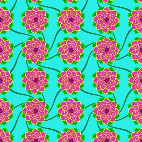 AOSFlowers2 fabric by grannynan on Spoonflower - custom fabric
