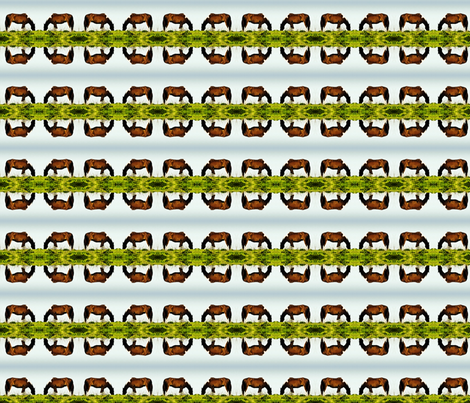 delta horse fabric by codalion on Spoonflower - custom fabric