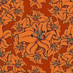 Day lilies amok