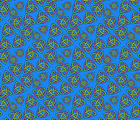 triskeleons fabric by hannafate on Spoonflower - custom fabric