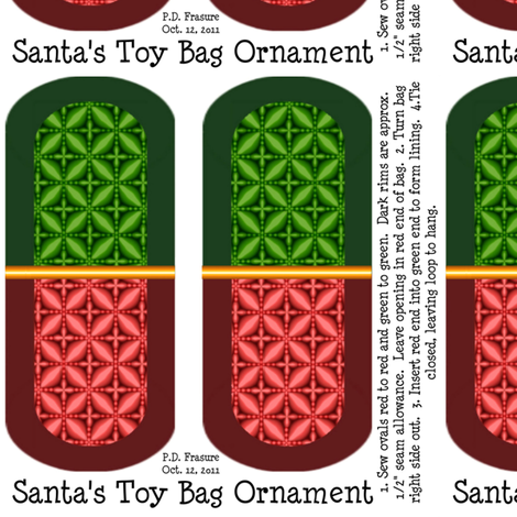 Brick_Santa's_Toy_Bag_Ornament_Brick fabric by pd_frasure on Spoonflower - custom fabric