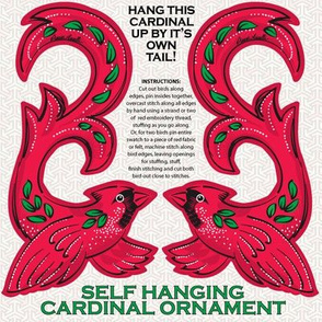 Cardinal Hanging Ornament