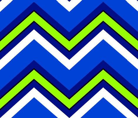 Surfer Chevron fabric by paragonstudios on Spoonflower - custom fabric