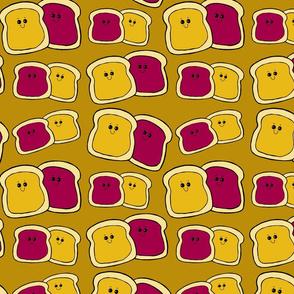 Happy PBJ Toast