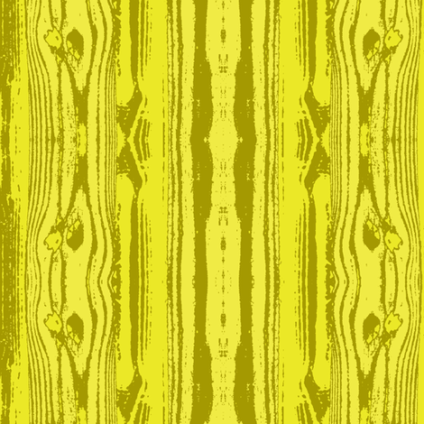 Woodgrain in Yellow fabric by bluenini on Spoonflower - custom fabric