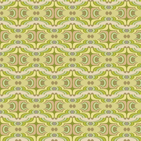 Celadon Wave fabric by david_kent_collections on Spoonflower - custom fabric