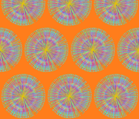 sun fabric by claravox on Spoonflower - custom fabric