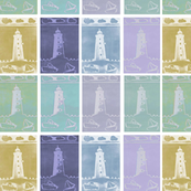  Poolbeg Lighthouse, Irish fabric