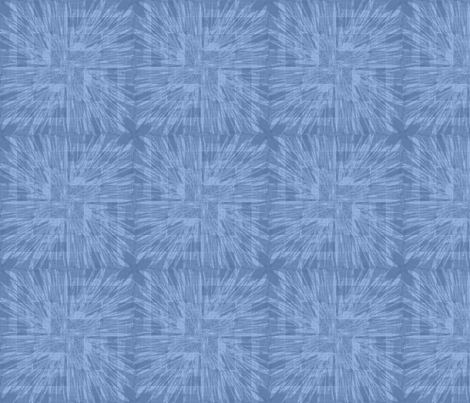Softly Starburst in blue fabric by meredithjean on Spoonflower - custom fabric
