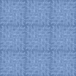 Softly Starburst in blue