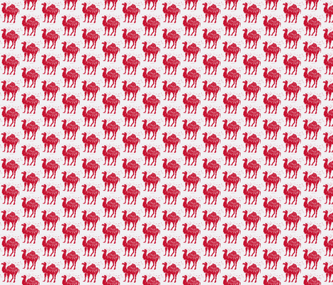 Red Camel Different fabric by bad_penny on Spoonflower - custom fabric